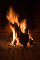 Fireplace shape of a hearth