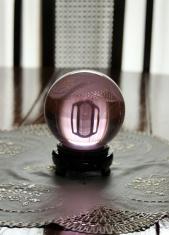 Pink crystal ball