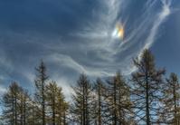 Parhelion in the autumn sky