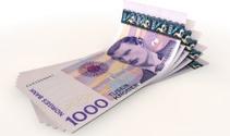 Kroner Bank Notes Spread