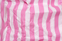 Retro candy stripe sweet bag abstract