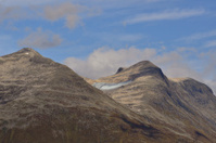 Mountain Range near Olden, Norway