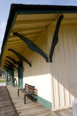 Small Town Train Depot