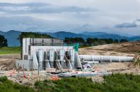 Construction Pump Site