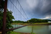 Wood Hanging Bridge