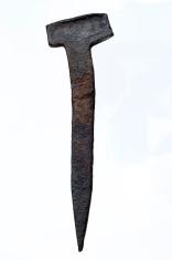 old rusty nail