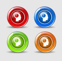 Idea Colorful Vector Icon Design