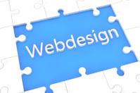 Puzzle webdesign concept