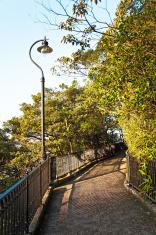 romantic peak way in Hong Kong