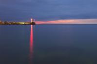 Lighthouse on sunrise