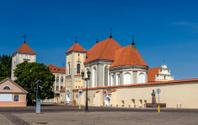 Church of Holy Trinity in Kaunas, Lithuania