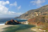 Scenery of Big Sur Coast in California