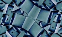 Geometric Futuristic Wide Screen Background