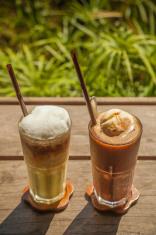 Coffee Frappe, Blended Beverage