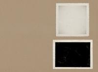 Vintage photo album with copy space