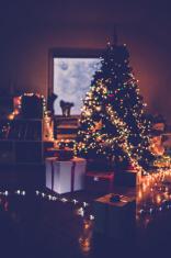Christmas Eve atmosphere