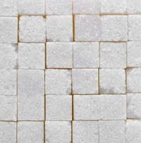 white sugar cubes texture background