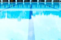 Lanes of swimming  pool