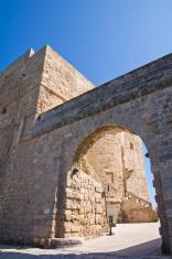 Carlo V Castle. Monopoli. Puglia. Italy.