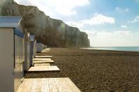 Beach Huts near the White Cliffs
