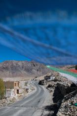 Prayer flag at Leh, Ladakh, India