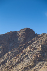 Mountain range in Leh Ladakh, Northern India