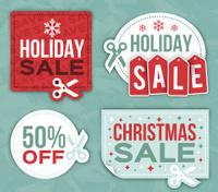 Holiday Sale Coupon Symbols