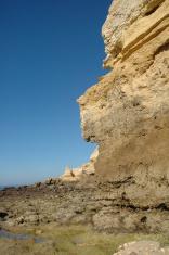coastal rock face