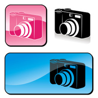 Digital Camera Icons