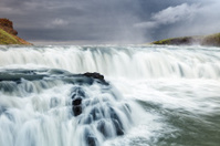 Gullfoss waterfal, Iceland