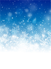 Blue Christmas Vertical Background Stock Vector