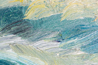 Abstract painted texture