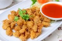 deep fried chicken tendon