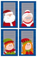 Four Christmas cards 5