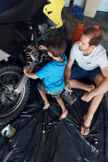 teaching son tools