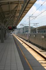 Empty Train Station