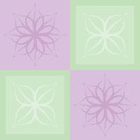 Flora Pattern Tile