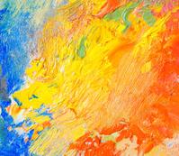 Peinture Huile Fraîche Sur Une Texture DE