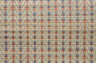 weaved straw mat texture
