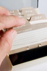 Address Card File