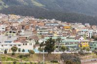 rooftops Quito Ecuador South America