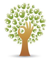 OK gesture tree