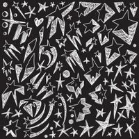 stars - doodles set