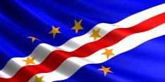 Cape Verde flag.