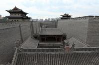 Die Stadtmauer von Datong in China