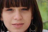 Teenage girl with earrings