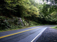 Curving Mountain Road