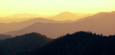 Mountain ridge abstract