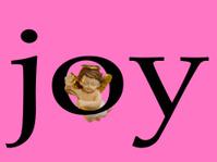 Joy with angel