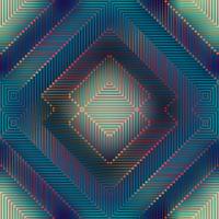 Geometric matrix pattern on blurred background.